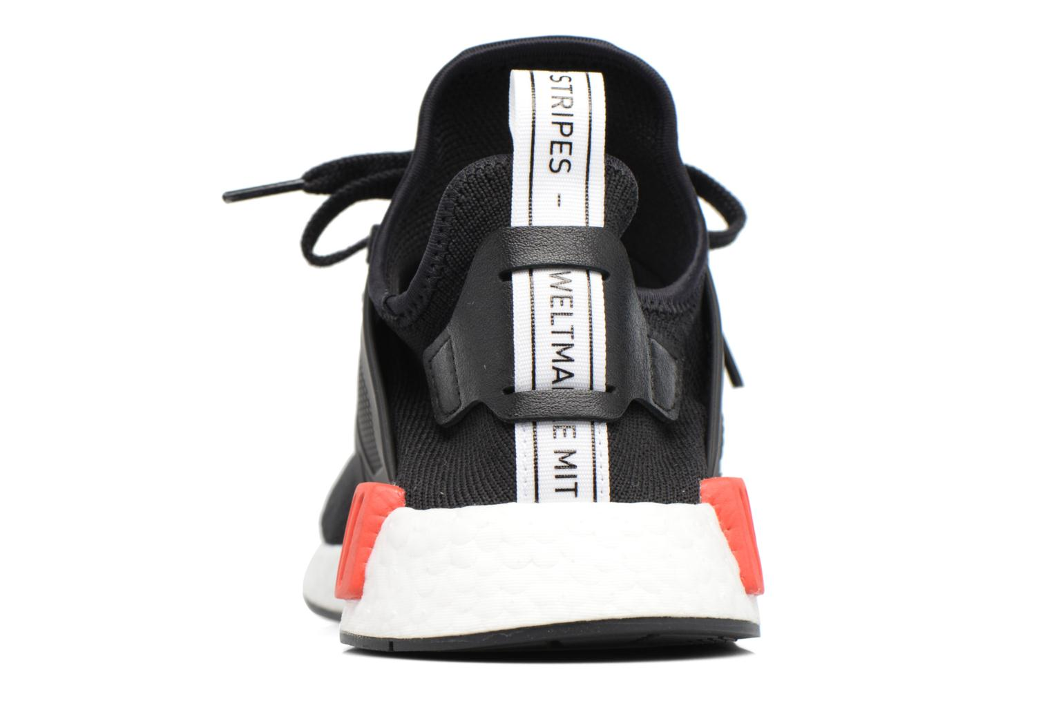 Trainers Adidas Originals Nmd_Xr1 Pk Black view from the right