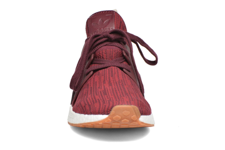 Baskets Adidas Originals Nmd_Xr1 Pk W Rouge vue portées chaussures