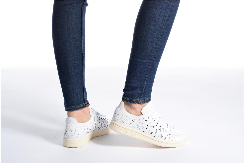 Sneakers Adidas Originals Stan Smith Cutout W Bianco immagine dal basso