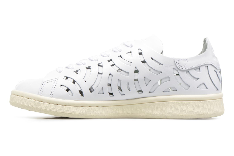 Baskets Adidas Originals Stan Smith Cutout W Blanc vue face