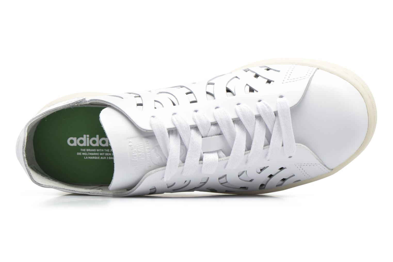 Baskets Adidas Originals Stan Smith Cutout W Blanc vue gauche
