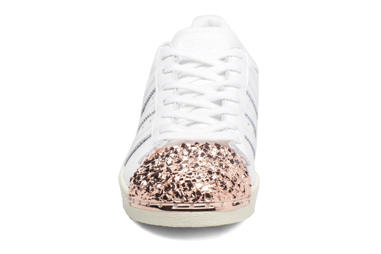 Baskets Adidas Originals Superstar 80S 3D Mt W Blanc vue portées chaussures