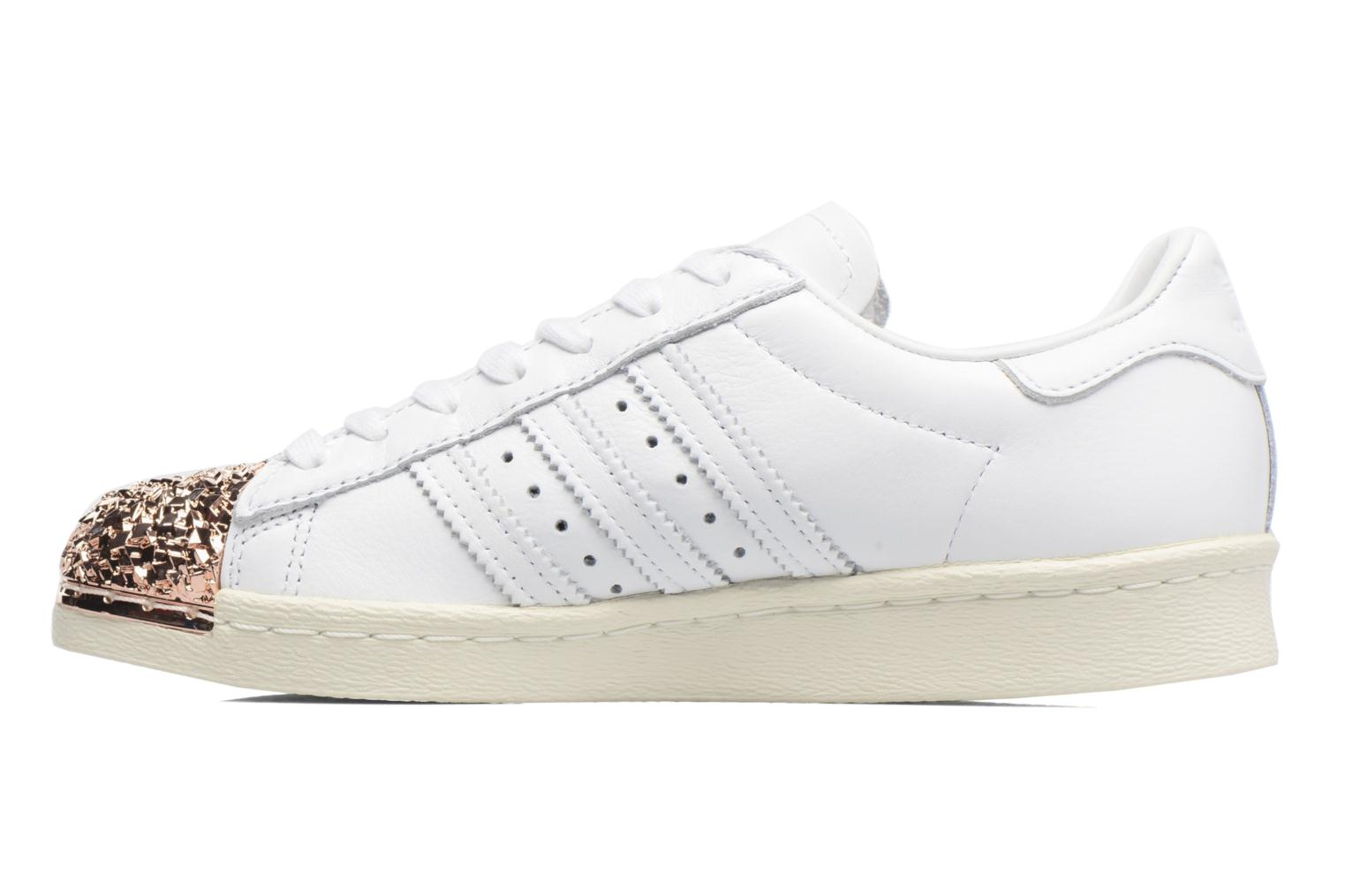 Baskets Adidas Originals Superstar 80S 3D Mt W Blanc vue face