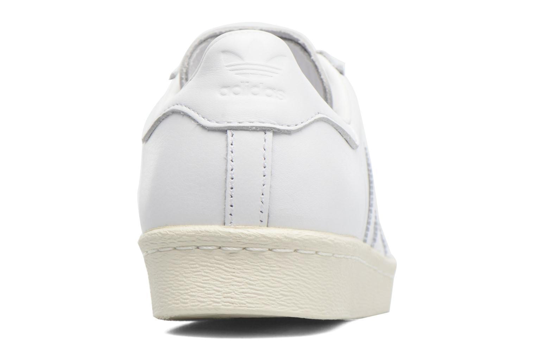 Sneaker Adidas Originals Superstar 80S 3D Mt W weiß ansicht von rechts