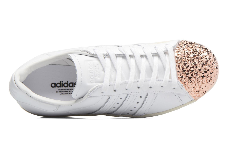 Sneaker Adidas Originals Superstar 80S 3D Mt W weiß ansicht von links