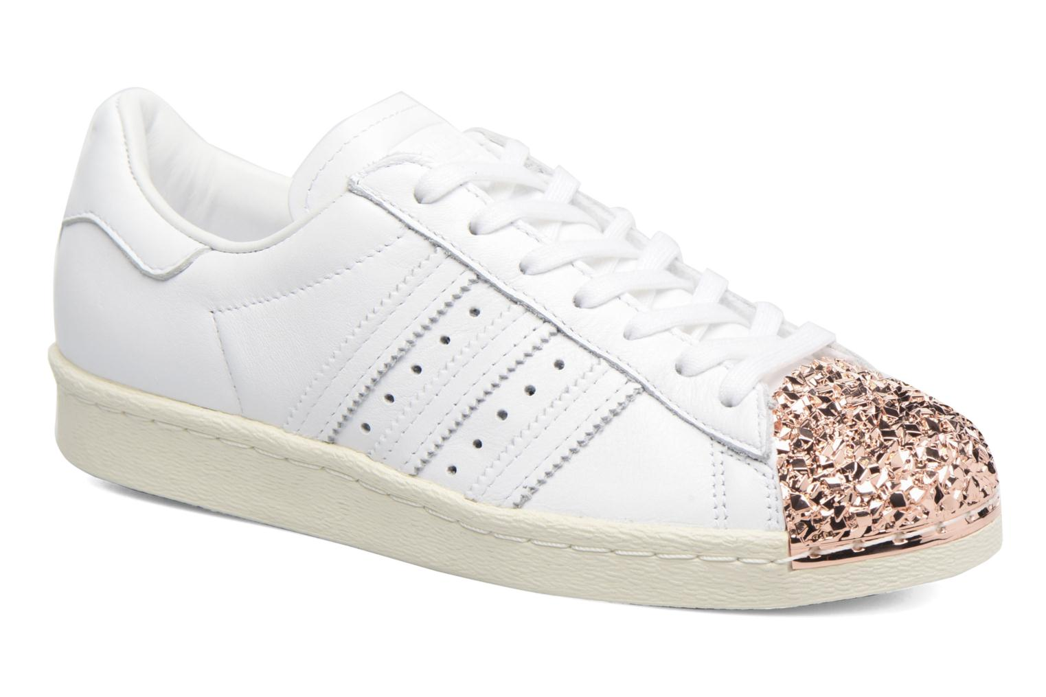 Baskets Adidas Originals Superstar 80S 3D Mt W Blanc vue détail/paire