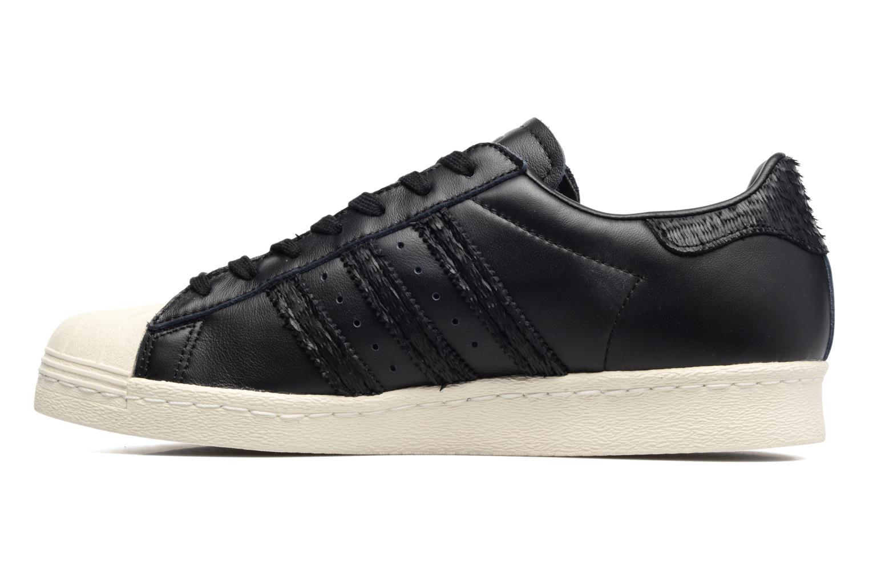 Sneakers Adidas Originals Superstar 80S Cny Zwart voorkant