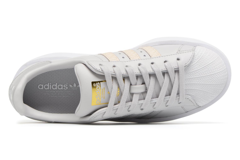 Baskets Adidas Originals Superstar Bold W Gris vue gauche