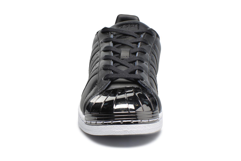 Baskets Adidas Originals Superstar Metal Toe W Noir vue portées chaussures
