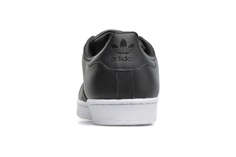 Baskets Adidas Originals Superstar Metal Toe W Noir vue droite