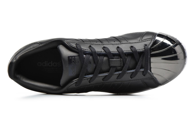 Baskets Adidas Originals Superstar Metal Toe W Noir vue gauche