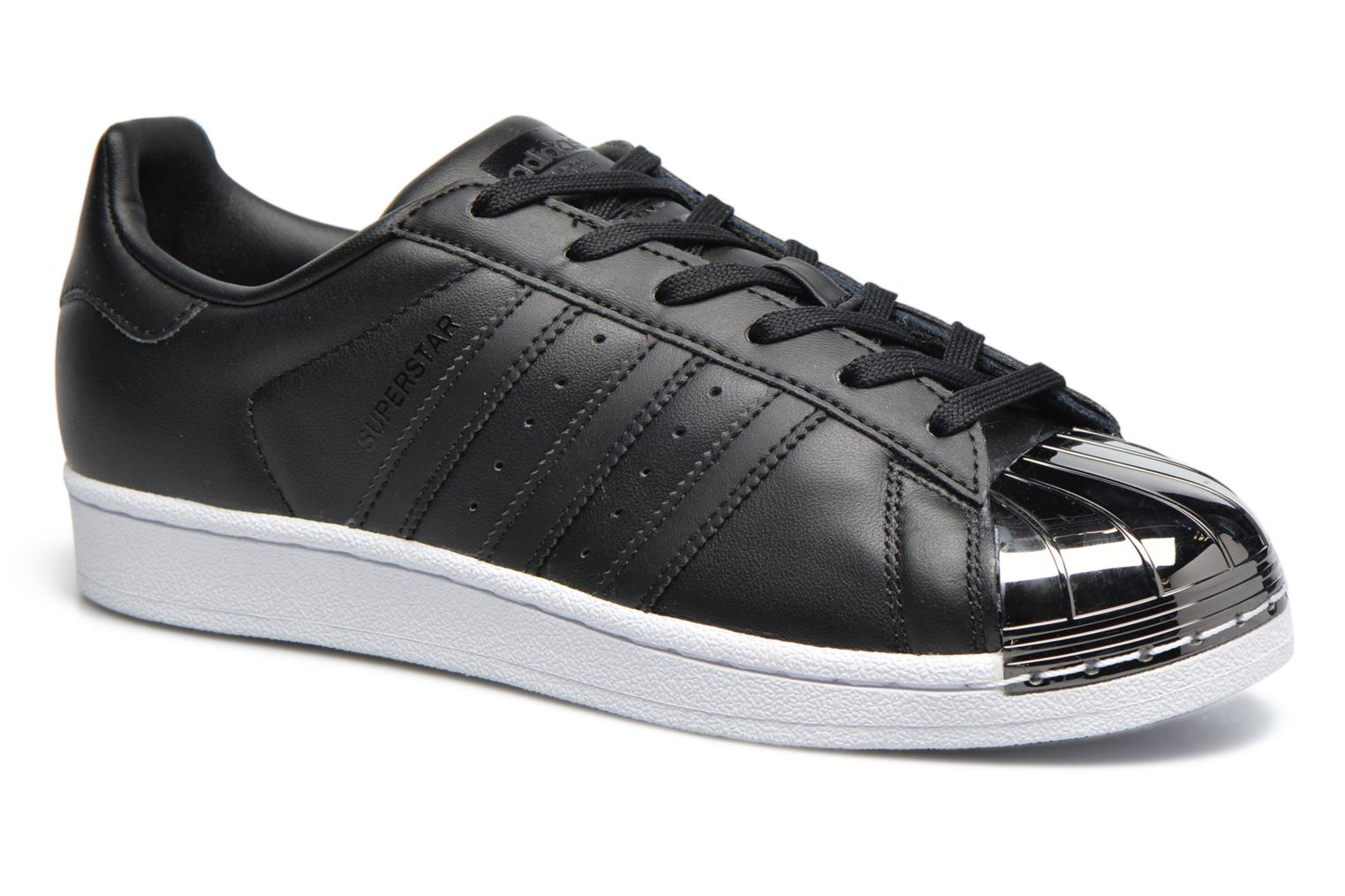 adidas Originals Baskets Superstar Metal Toe Femme Noir tehNG040