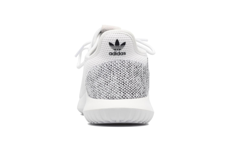 Baskets Adidas Originals Tubular Shadow Knit W Blanc vue droite