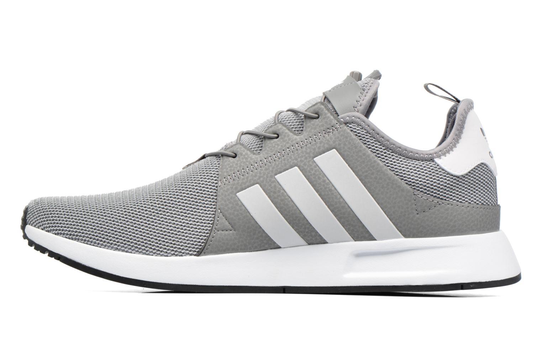Sneaker Adidas Originals X_Plr grau ansicht von vorne