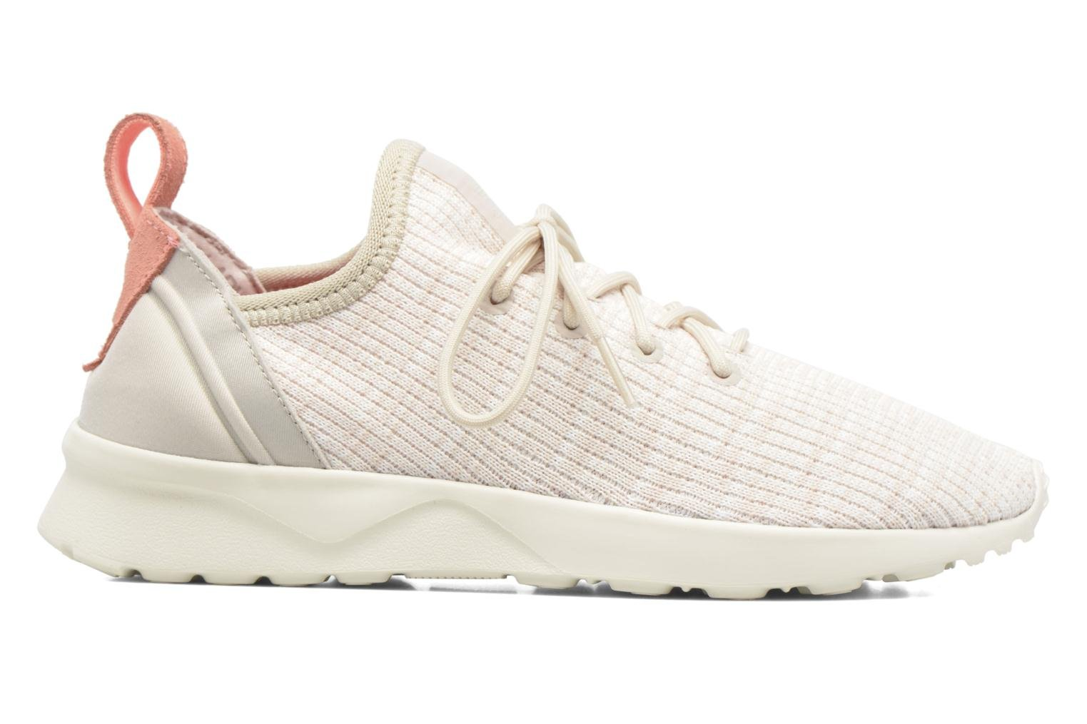 Sneakers Adidas Originals Zx Flux Adv Virtue Sock W Beige se bagfra