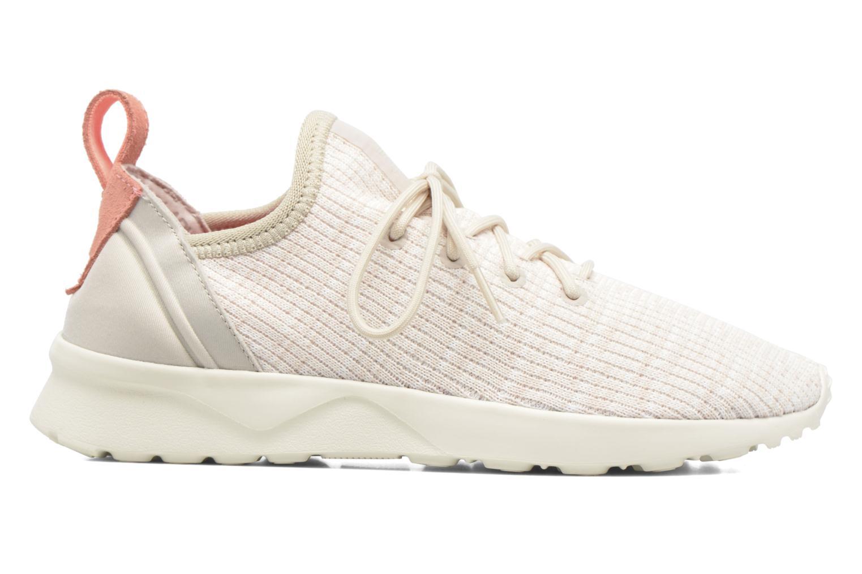 Sneakers Adidas Originals Zx Flux Adv Virtue Sock W Beige immagine posteriore