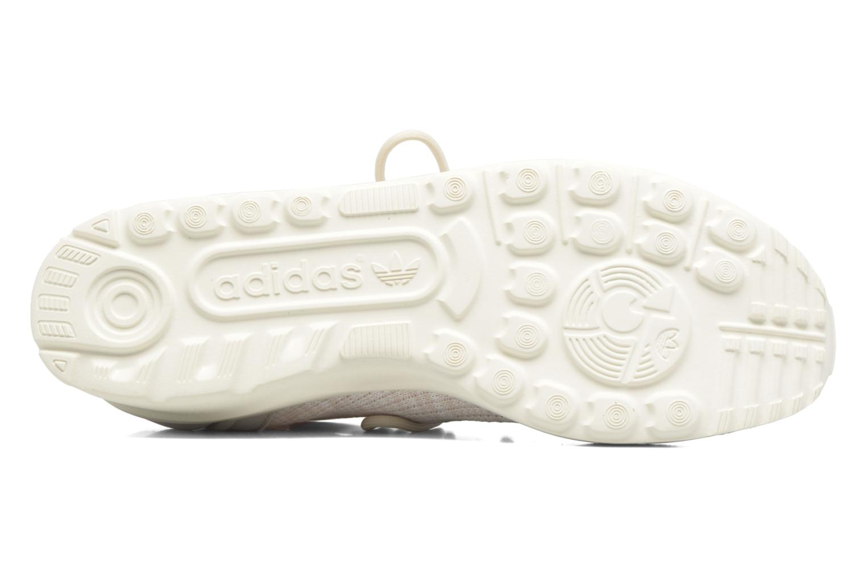 Sneakers Adidas Originals Zx Flux Adv Virtue Sock W Beige immagine dall'alto