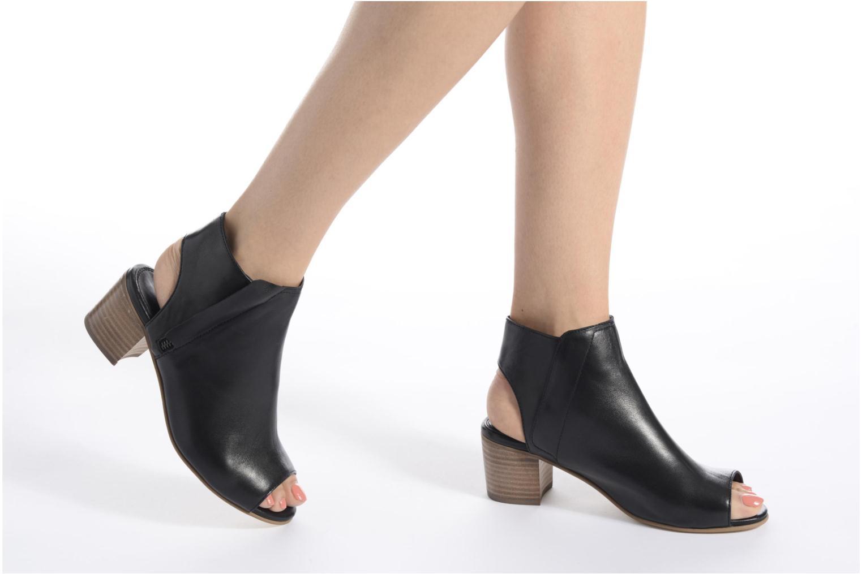 Bottines et boots Dune London Jolie Noir vue bas / vue portée sac