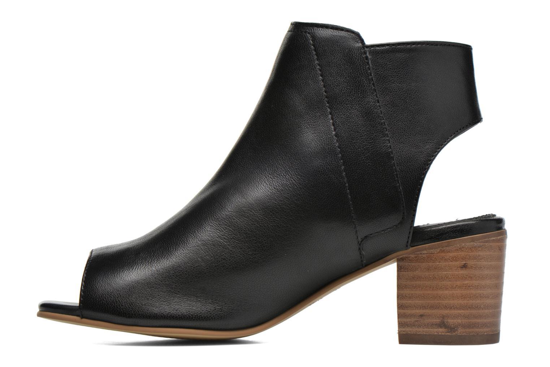Bottines et boots Dune London Jolie Noir vue face