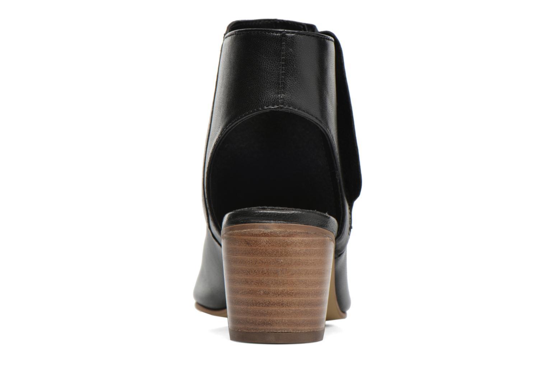 Bottines et boots Dune London Jolie Noir vue droite