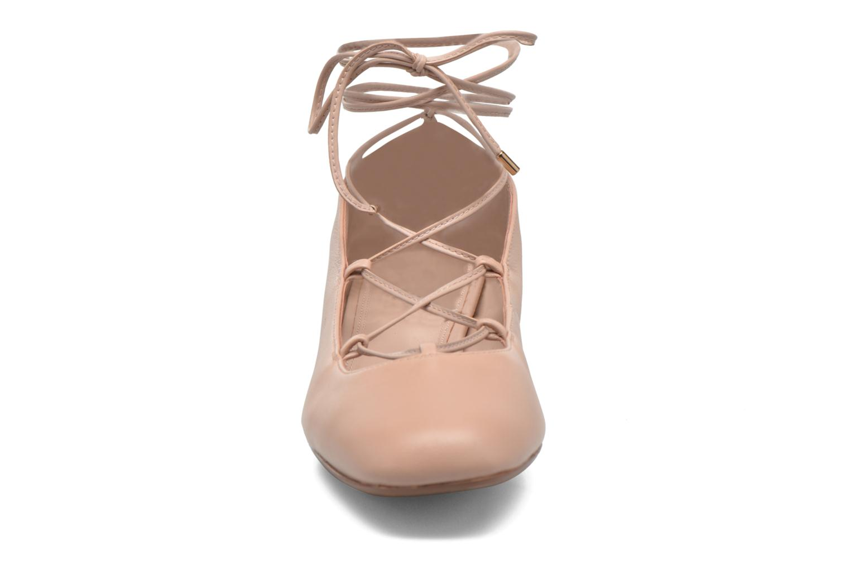 Ballerines Dune London Ballay Rose vue portées chaussures