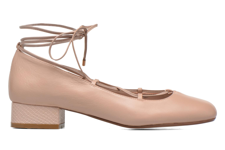 Ballerina's Dune London Ballay Roze achterkant