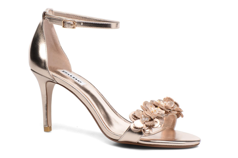 Dune London Magnolea (Or et bronze) - Sandales et nu-pieds chez Sarenza (288837)