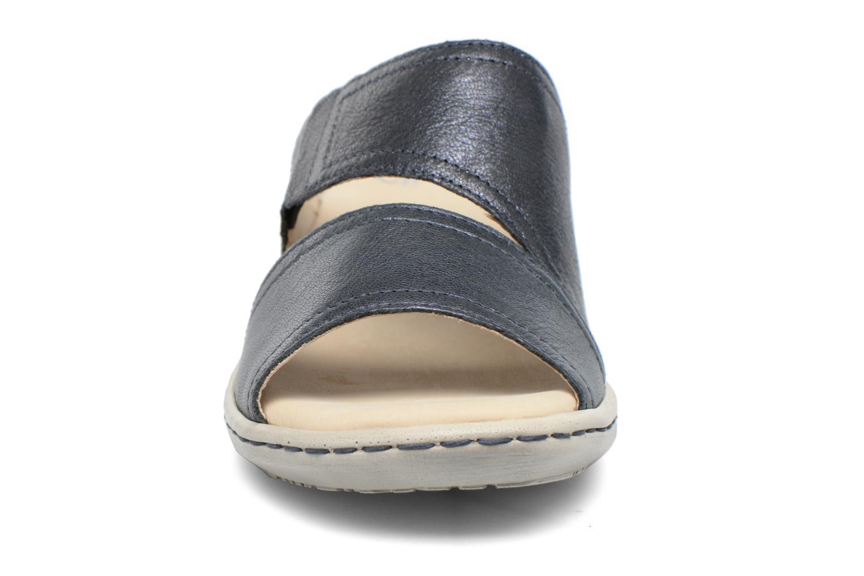 Mules et sabots Caprice Edda Bleu vue portées chaussures