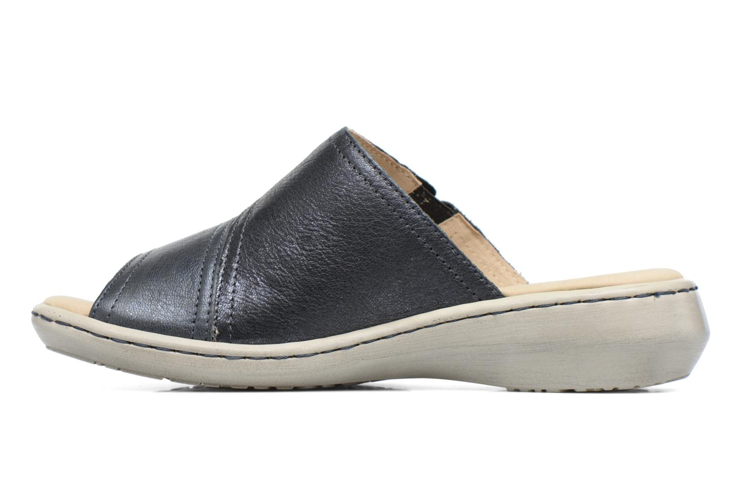 Mules & clogs Caprice Edda Blue front view