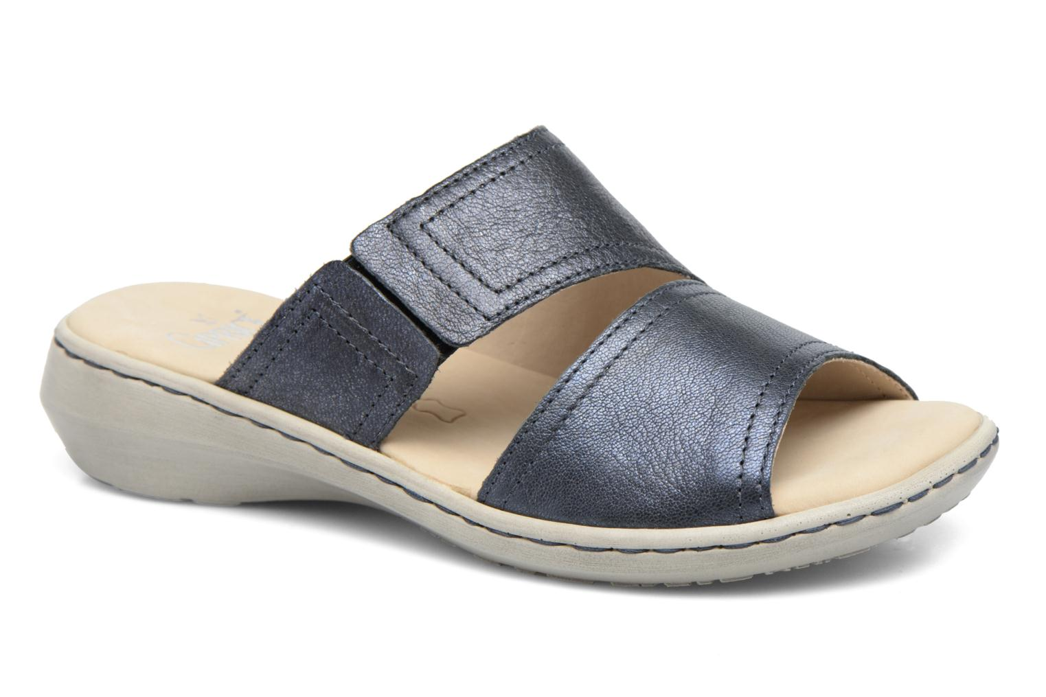 Mules & clogs Caprice Edda Blue detailed view/ Pair view