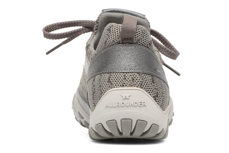 Chaussures de sport Allrounder by Mephisto Festival Gris vue droite