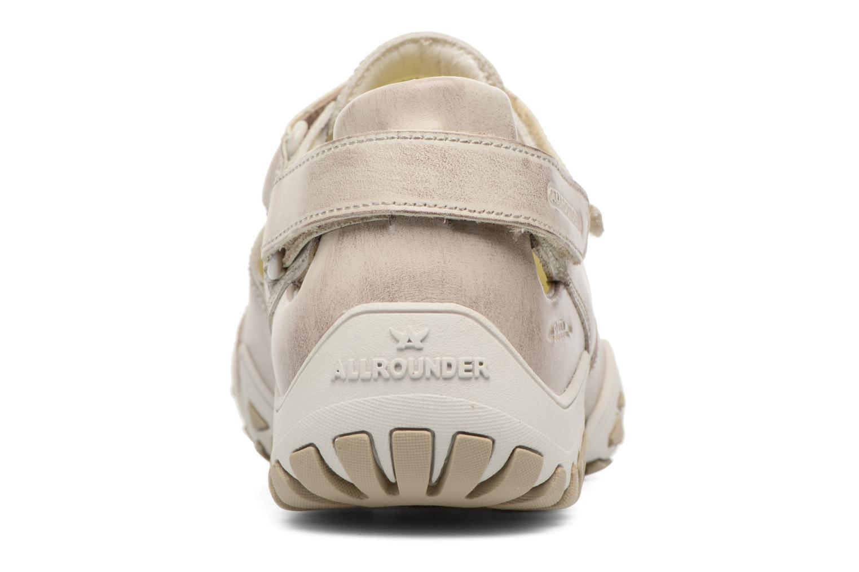 Chaussures de sport Allrounder by Mephisto Firelli Beige vue droite