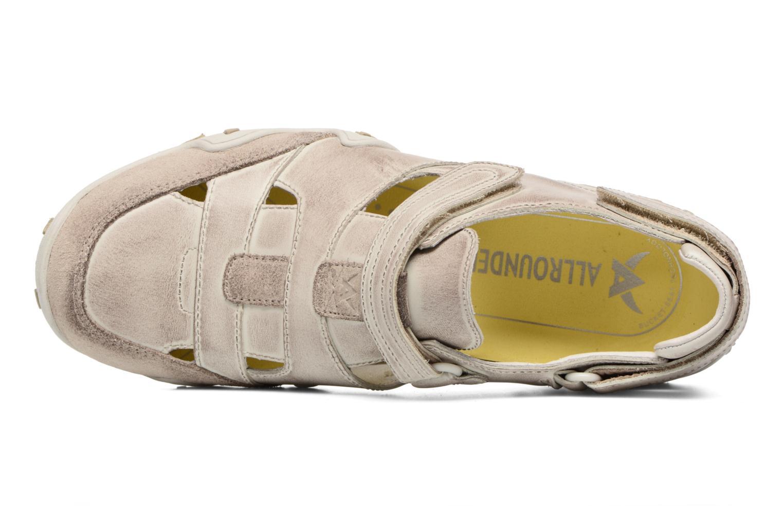 Chaussures de sport Allrounder by Mephisto Firelli Beige vue gauche