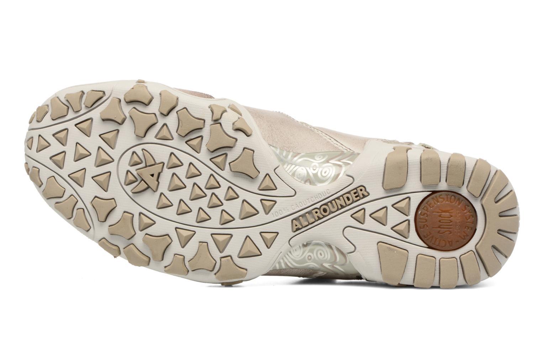 Chaussures de sport Allrounder by Mephisto Firelli Beige vue haut