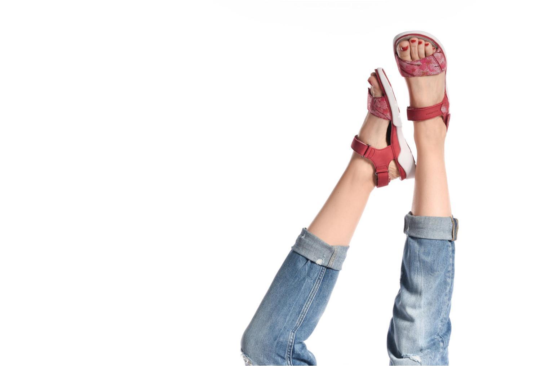 Chaussures de sport Allrounder by Mephisto Tabasa Blanc vue bas / vue portée sac