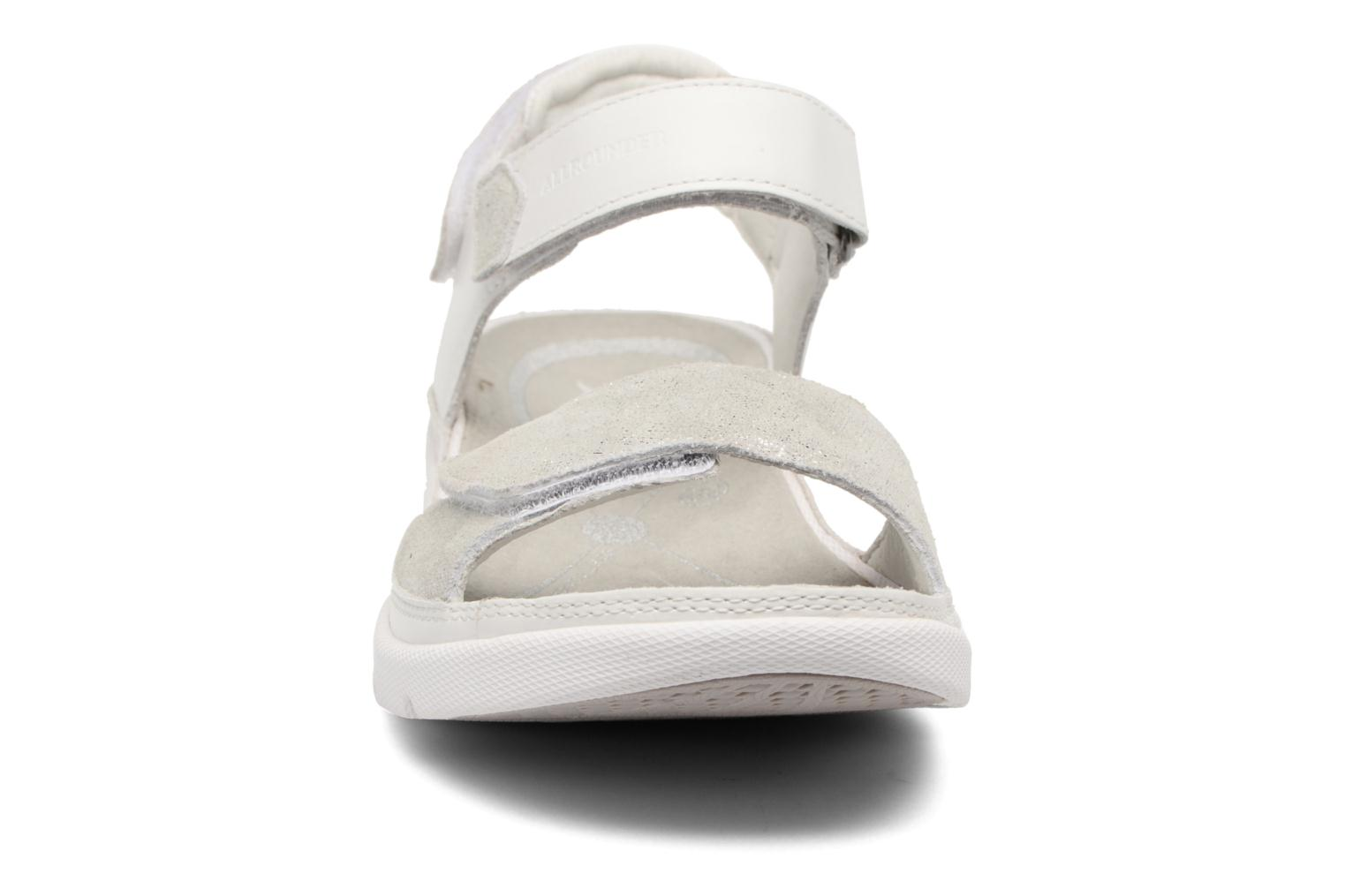 Chaussures de sport Allrounder by Mephisto Tabasa Blanc vue portées chaussures