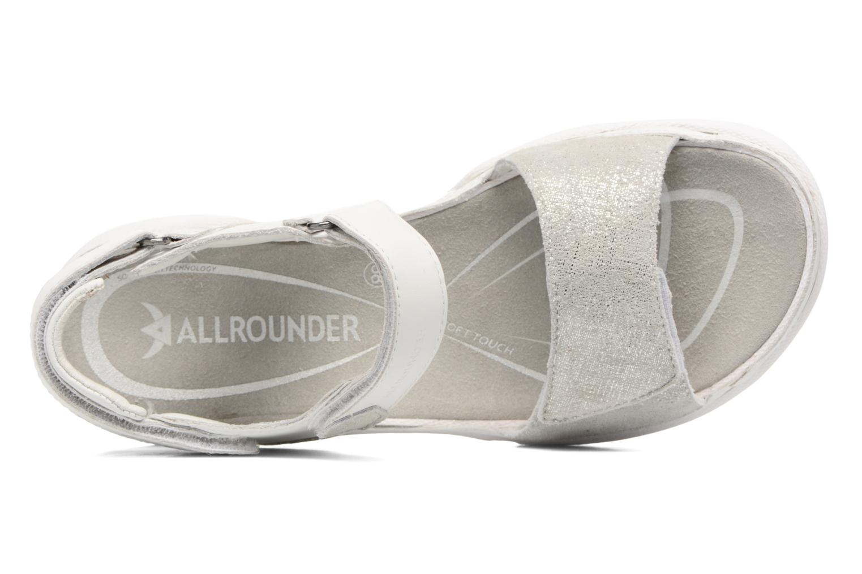 Chaussures de sport Allrounder by Mephisto Tabasa Blanc vue gauche