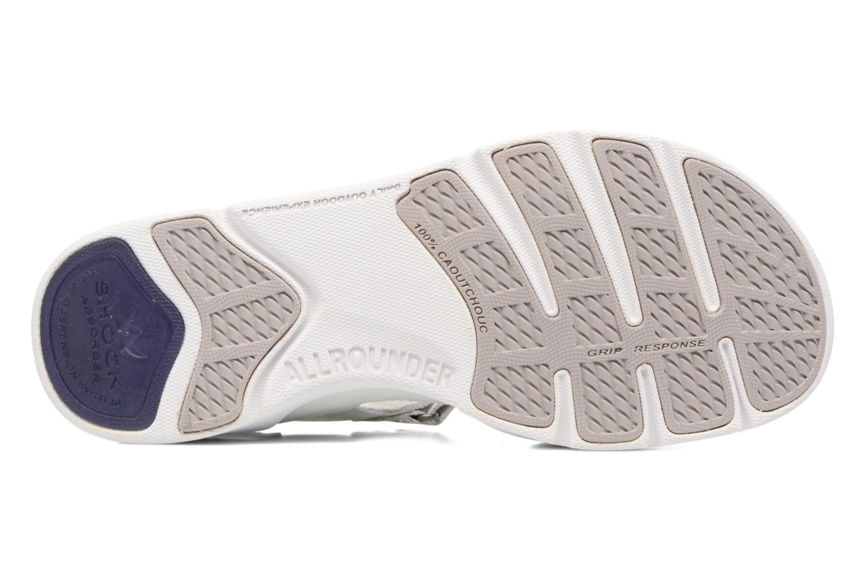 Chaussures de sport Allrounder by Mephisto Tabasa Blanc vue haut