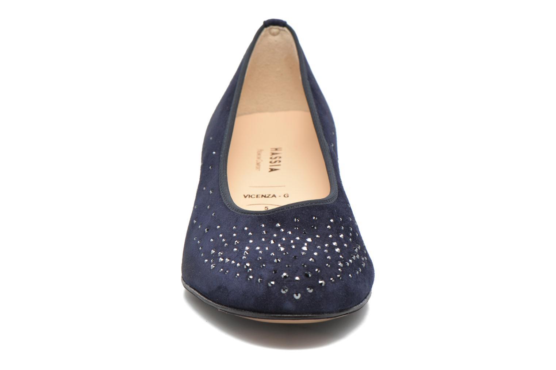 Ballerines Hassia Vicenza 8812 Bleu vue portées chaussures