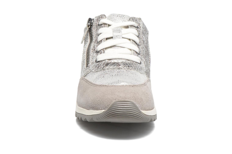 Baskets Jana shoes Tania Gris vue portées chaussures