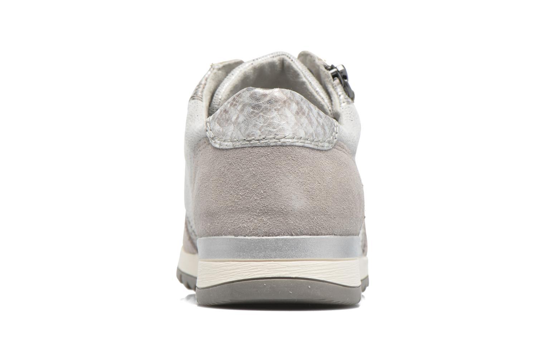 Baskets Jana shoes Tania Gris vue droite
