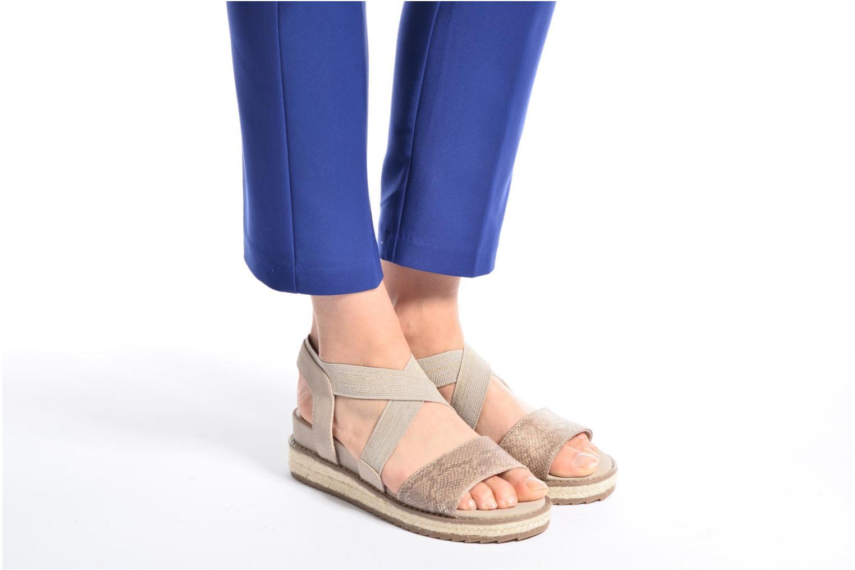 Sandalen Jana shoes Meli Bruin onder