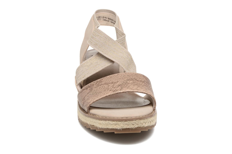 Sandalias Jana shoes Meli Marrón vista del modelo