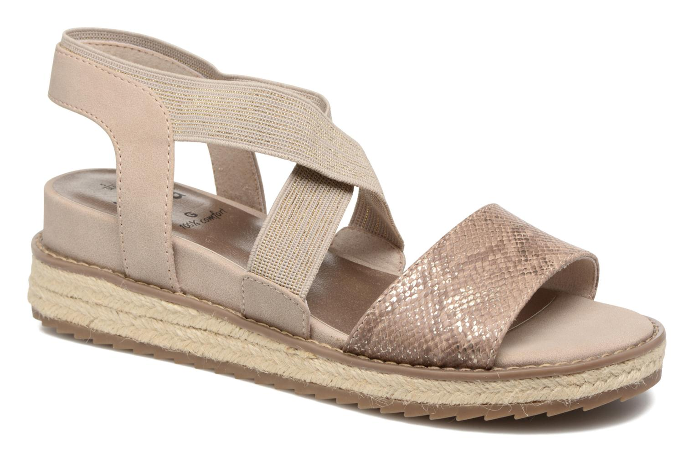 Sandalen Jana shoes Meli Bruin detail