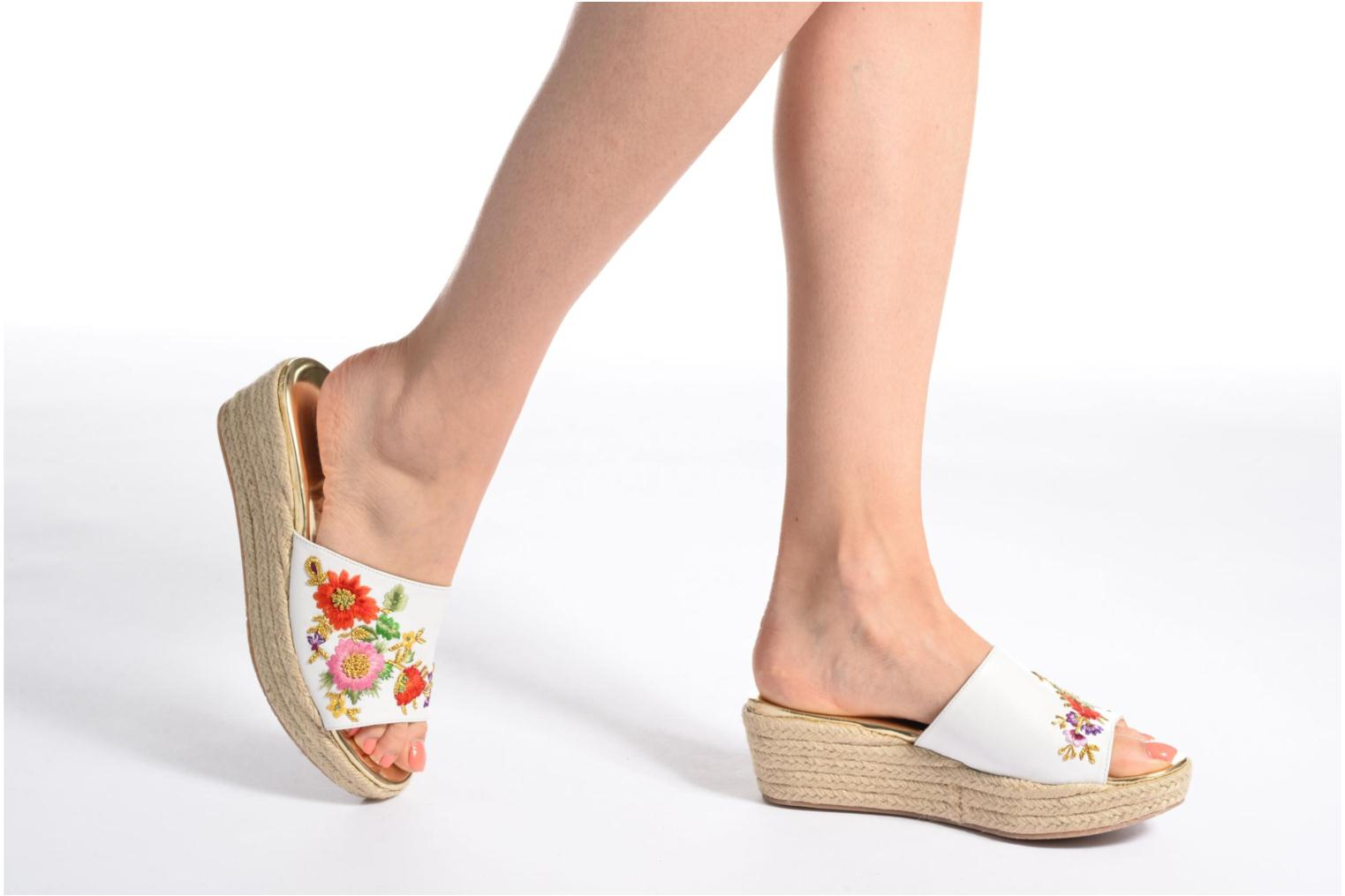 Mules & clogs Dune London Karri Multicolor view from underneath / model view