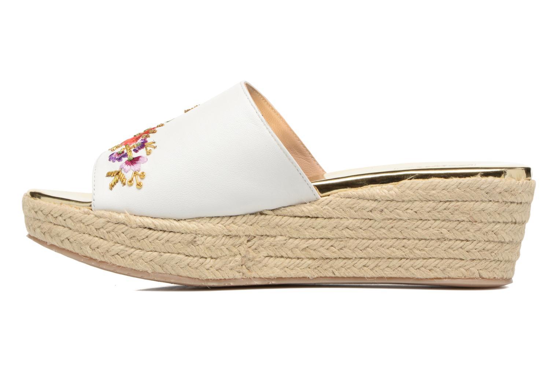 Karri White leather