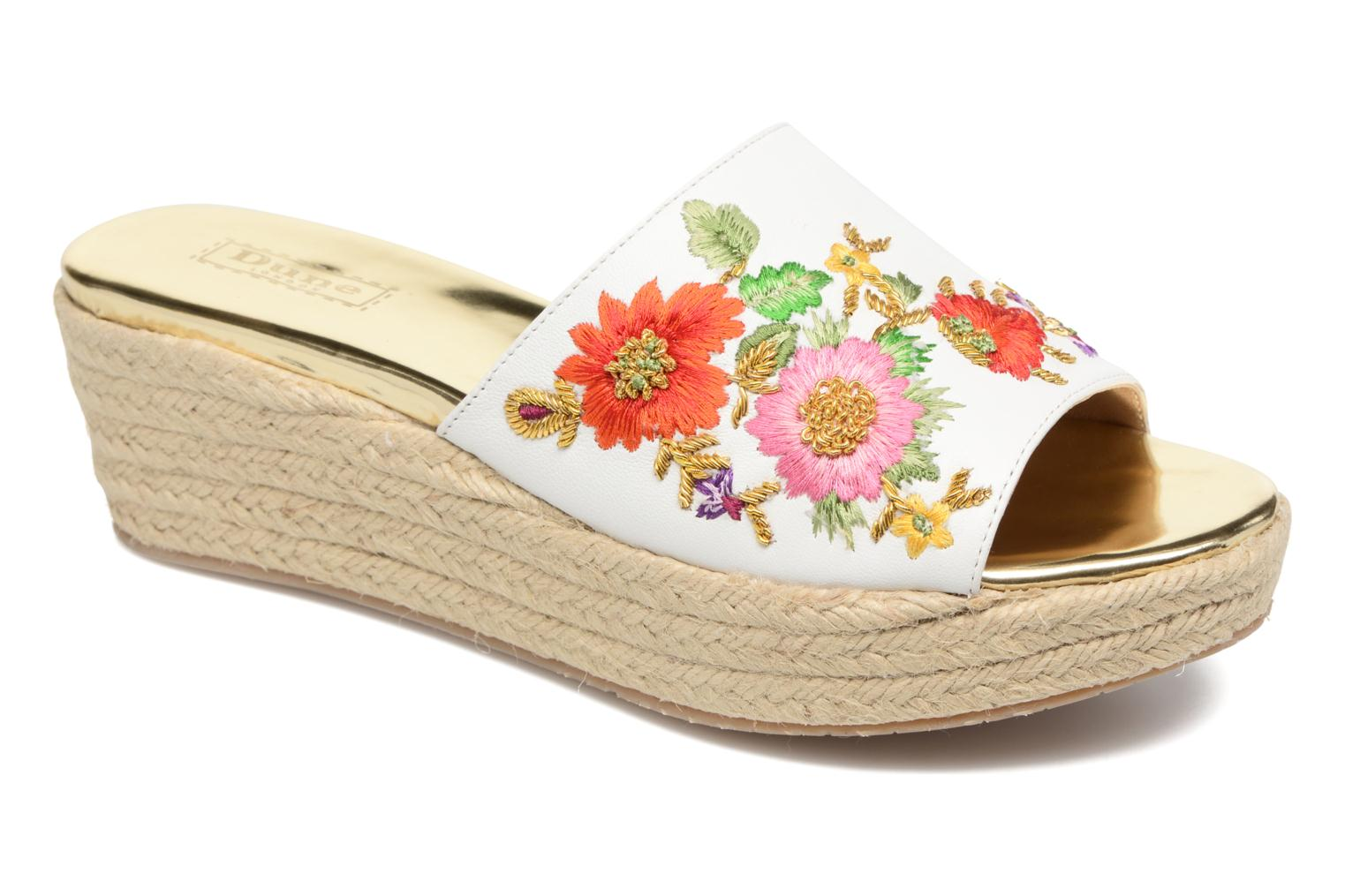 Wedges Dune London Karri Multicolor detail
