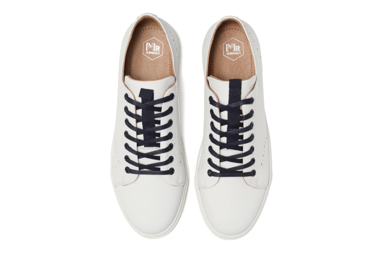 Baskets Mr SARENZA Cortig Blanc vue portées chaussures