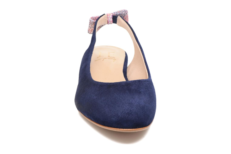 Ballerines HE Spring Calvi Bleu vue portées chaussures