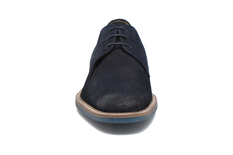 Chaussures à lacets HE Spring Pekin Bleu vue portées chaussures